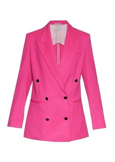 Edun Double-breasted wool jacket