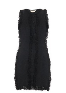 Edun Fringed-edge mini dress