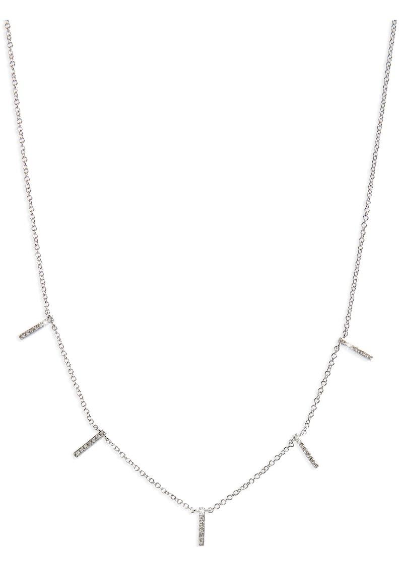 EF Collection Diamond Collar Necklace