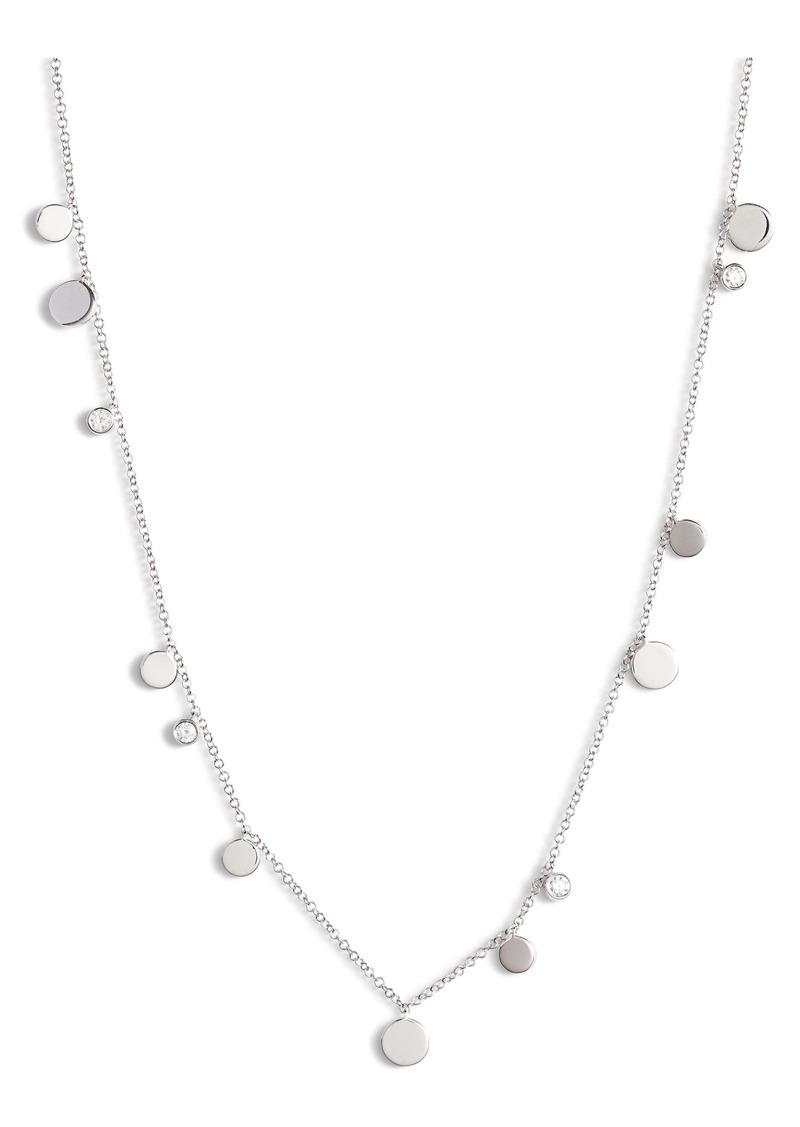 EF Collection Diamond Confetti Necklace