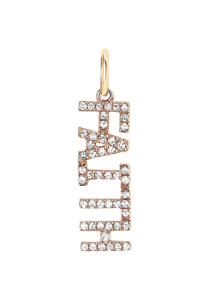 EF Collection Diamond Faith Pendant Charm
