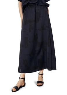 Eileen Fisher A-Line Maxi Skirt