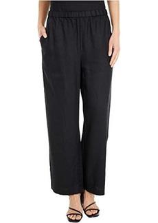 Eileen Fisher Ankle Length Straight Leg Pants