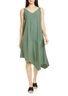 Eileen Fisher Asymmetrical Shift Dress (Regular & Petite)