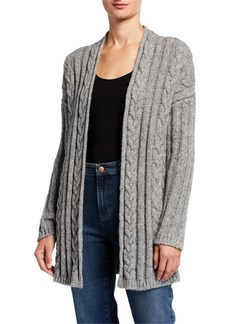 Eileen Fisher Baby Alpaca Cabled Cardigan