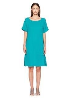 Eileen Fisher Bateau Neck K/L Dress