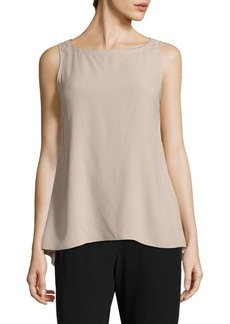 Eileen Fisher Bateau Neck Top
