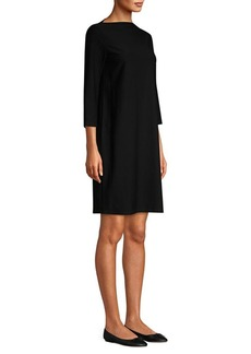 Eileen Fisher Boatneck Shift Dress