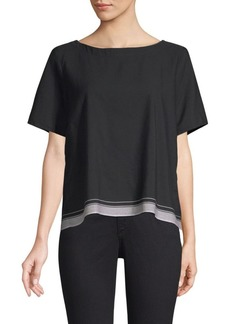 Eileen Fisher Border Tee