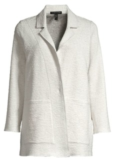 Eileen Fisher Boxy Jacquard Knit Jacket