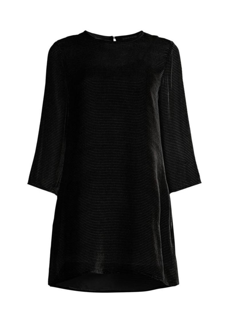 Eileen Fisher Burnout Velvet Tunic