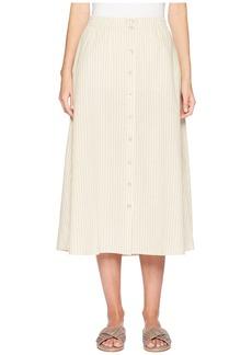 Eileen Fisher Button Front Skirt