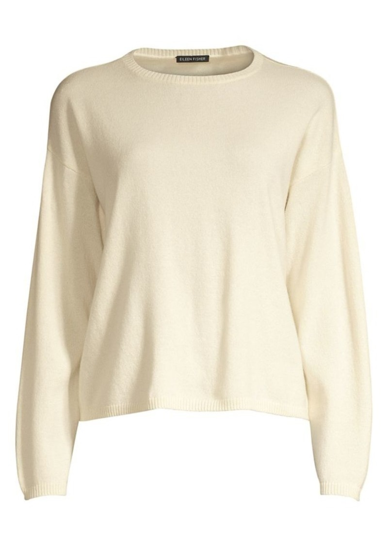 Eileen Fisher Cashmere Crewneck Sweater