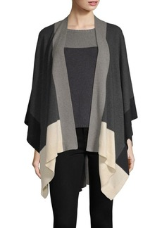 Eileen Fisher Cashmere-Wool Blend Serape