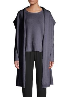 Eileen Fisher Cashmere Wool Scarf
