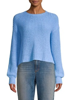 Eileen Fisher Chunky Knit Crop Sweater