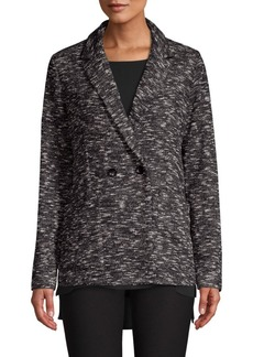 Eileen Fisher Classic Collar Knit Blazer