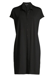 Eileen Fisher Classic Collar Shirtdress