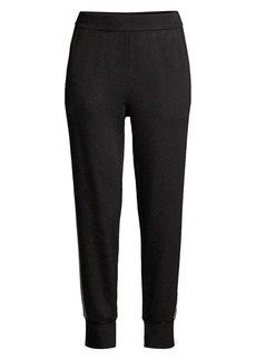 Eileen Fisher Colorblock Striped Joggers