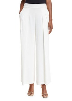 Eileen Fisher Corded Wide-Leg Drama Pants