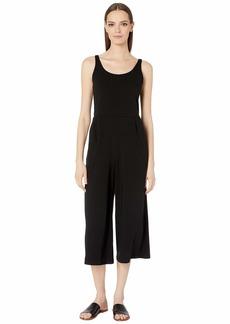 Eileen Fisher Cotton Stretch Jersey Cami Jumpsuit