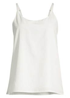 Eileen Fisher Crepe Chiffon Camisole