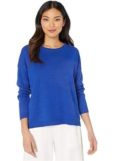Eileen Fisher Crew Neck Box-Top