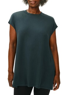 Eileen Fisher Crewneck Short-Sleeve Tunic