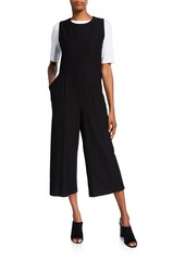 Eileen Fisher Cropped Ponte Tank Jumpsuit