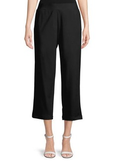 Eileen Fisher Cropped Ponte Trousers