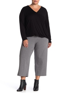 Eileen Fisher Cropped Wide Leg Pants (Plus Size)