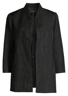 Eileen Fisher Diamond Jacquard Jacket