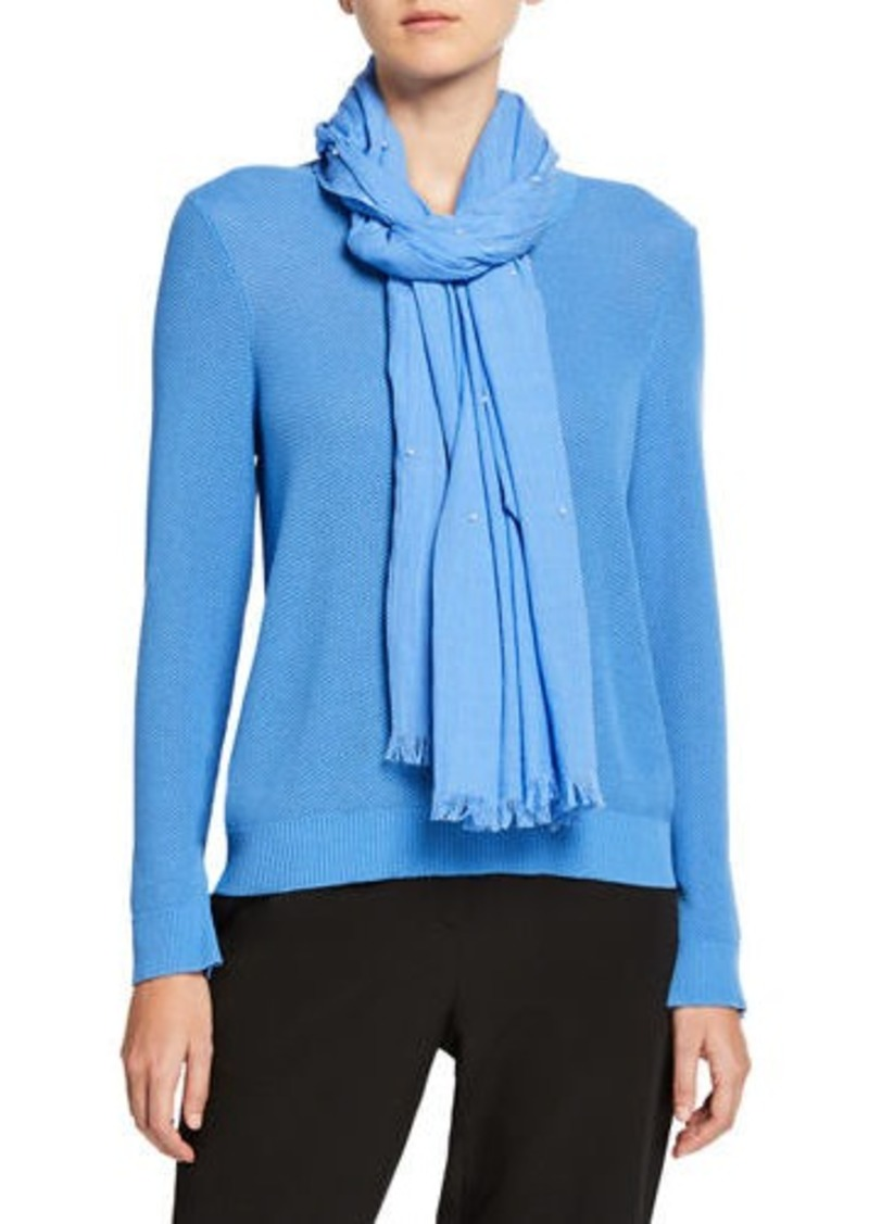 Eileen Fisher Dots Wrap Scarf