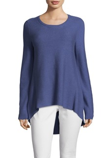 Eileen Fisher Drape Cotton Sweater