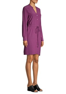 Eileen Fisher Drawstring Shirtdress