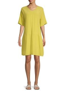 Eileen Fisher Drop-Waist Tee Dress