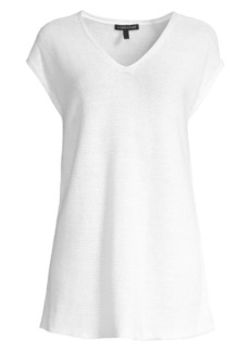 Eileen Fisher Easy-Fit Organic Knit Tunic