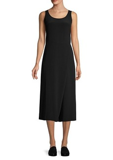 Eileen Fisher Easy-Fit Skirt Wrap Jumpsuit
