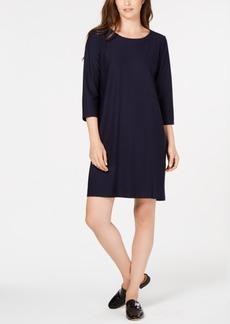 Eileen Fisher 3/4-Sleeve Dress