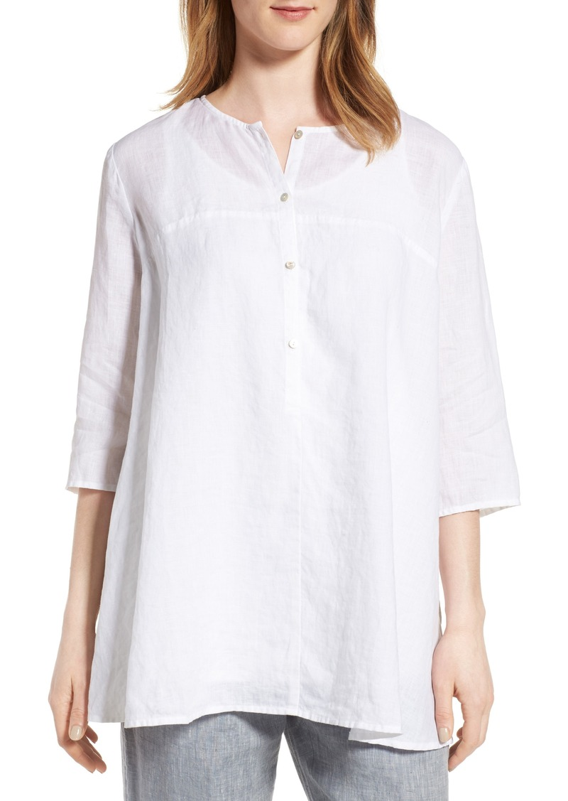 b611632b701 On Sale today! Eileen Fisher Eileen Fisher A-Line Organic Linen Tunic