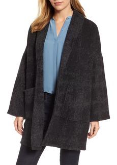 Eileen Fisher Alpaca & Wool Blend Kimono Coat