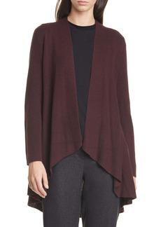 Eileen Fisher Angled Silk & Cashmere Cardigan (Regular & Petite)