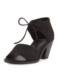 Eileen Fisher Ann Tie-Front Heeled Sandal