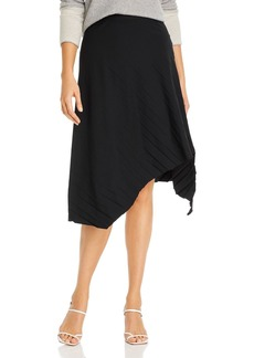 Eileen Fisher Asymmetric Pleated Skirt