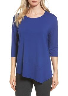 Eileen Fisher Asymmetrical Jersey Tunic