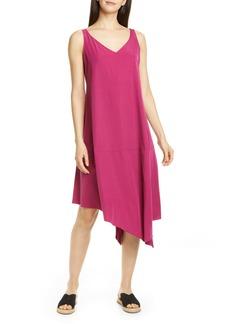 Eileen Fisher Asymmetrical Shift Dress (Regular & Petite)