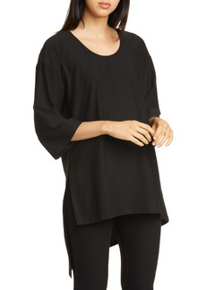 Eileen Fisher Asymmetrical Tunic Top