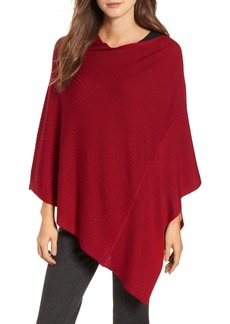 Eileen Fisher Bateau Neck Sweater Poncho