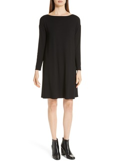 Eileen Fisher Bateau T-Shirt Dress