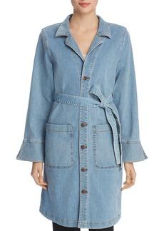 Eileen Fisher Belted Denim Jacket - 100% Exclusive